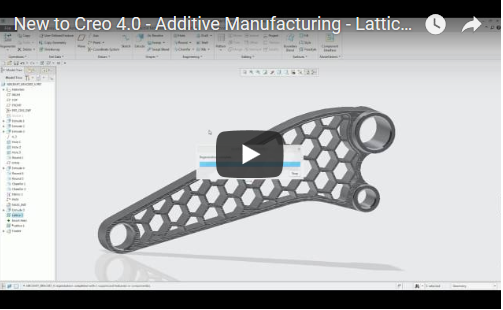 New to Creo 4.0 - Addictive Manufacturing